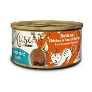 Purina Muse Natural Chicken & Carrot Recipe Pate Adult Grain-Free Canned Cat Food, 3-oz, case of 24