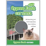 Next Gen Pet Products Cypress Fresh Natural Odor Control with Green Tea Clumping Cat Litter, 5.1-lb bag