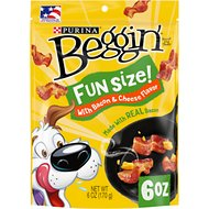 Beggin' Littles Bacon & Cheese Flavors Dog Treats, 6-oz bag