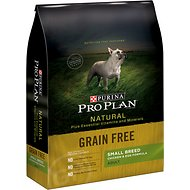 Purina Pro Plan Natural Plus Essential Vitamins & Minerals Small Breed Chicken & Egg Formula Grain-Free Dry Dog Food, 16-lb bag