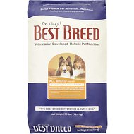 Dr. Gary's Best Breed Holistic All Breed Dry Dog Food, 30-lb bag