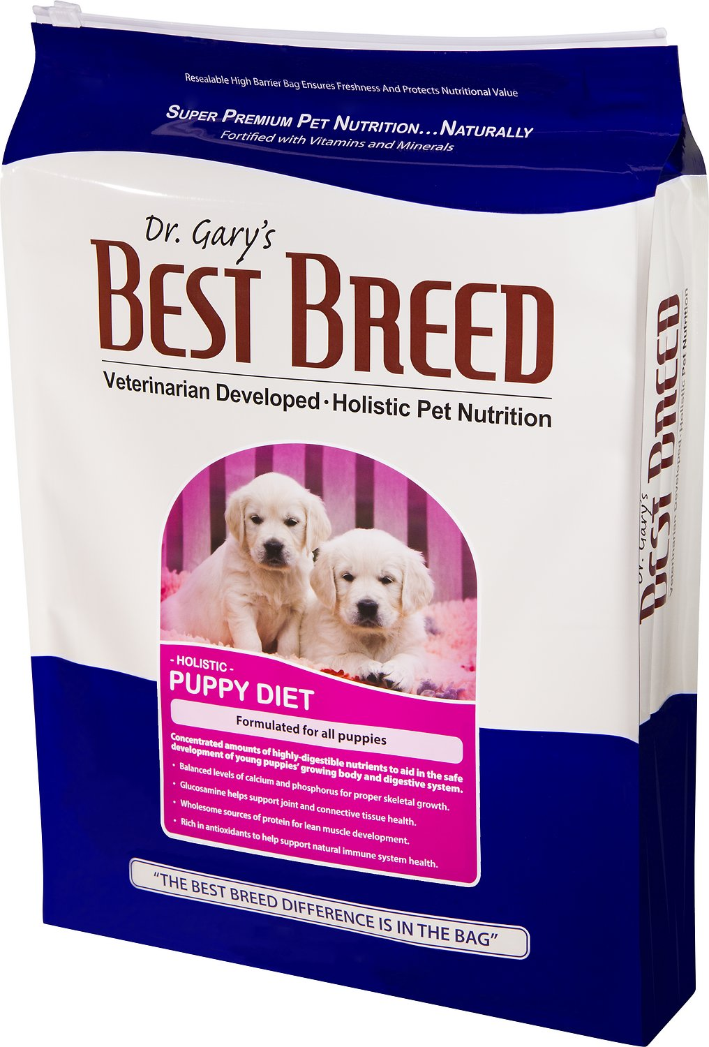 Best Food For Puppies >> Dr Gary S Best Breed Holistic Puppy Diet Dry Dog Food 4 Lb Bag
