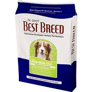 Dr. Gary's Best Breed Holistic Lamb Meal with Vegetables & Herbs Dry Dog Food, 30-lb bag