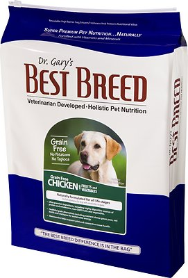 2. Dr. Gary's Best Breed Holistic Grain-Free Dry Dog Food