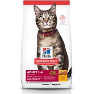 Hill's Science Diet Adult Optimal Care Chicken Recipe Dry Cat Food, 16-lb bag
