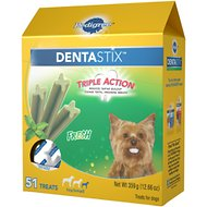 Pedigree Dentastix Mini Fresh Dog Treats, 51-count