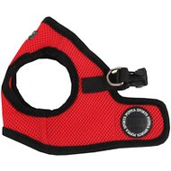 Puppia Soft Vest Dog Harness B, Red, Medium