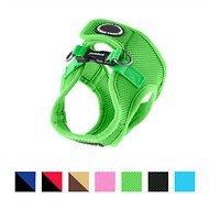 Puppia Soft Vest Dog Harness B, Green, Medium