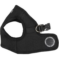 Puppia Soft Vest Dog Harness B, Black, Medium