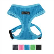 Puppia Soft Dog Harness A, Sky Blue, Small