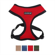 Puppia Soft Dog Harness A, Red, Medium