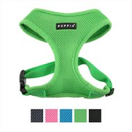 Puppia Soft Dog Harness A, Green, Large