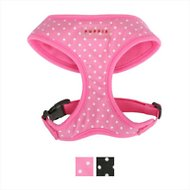 Puppia Soft Dog Harness A, Pink Dotty, Medium