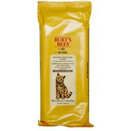 Burt's Bees Dander Reducing Wipes with Colloidal Oat Flour & Aloe Vera for Cats, 50-count