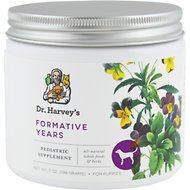 Dr. Harvey's Formative Years Puppy & Young Dog Supplement, 7-oz tin