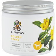 Dr. Harvey's Golden Years Herbal Dog Supplement, 7-oz tin