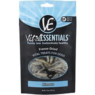 Vital Essentials Minnows Freeze-Dried Dog Treats, 1-oz bag
