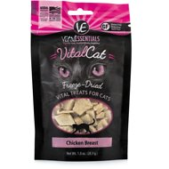 Vital Essentials Chicken Breast Freeze-Dried Cat Treats, 1-oz bag