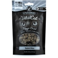 Vital Essentials Rabbit Bites Freeze-Dried Cat Treats, 0.9-oz bag