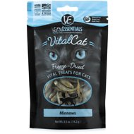 Vital Essentials Minnows Freeze-Dried Cat Treats, 0.5-oz bag