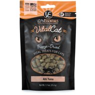 Vital Essentials Ahi Tuna Freeze-Dried Cat Treats, 1.1-oz bag