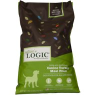 Nature's Logic Canine Turkey Meal Feast Dry Dog Food, 26.4-lb bag
