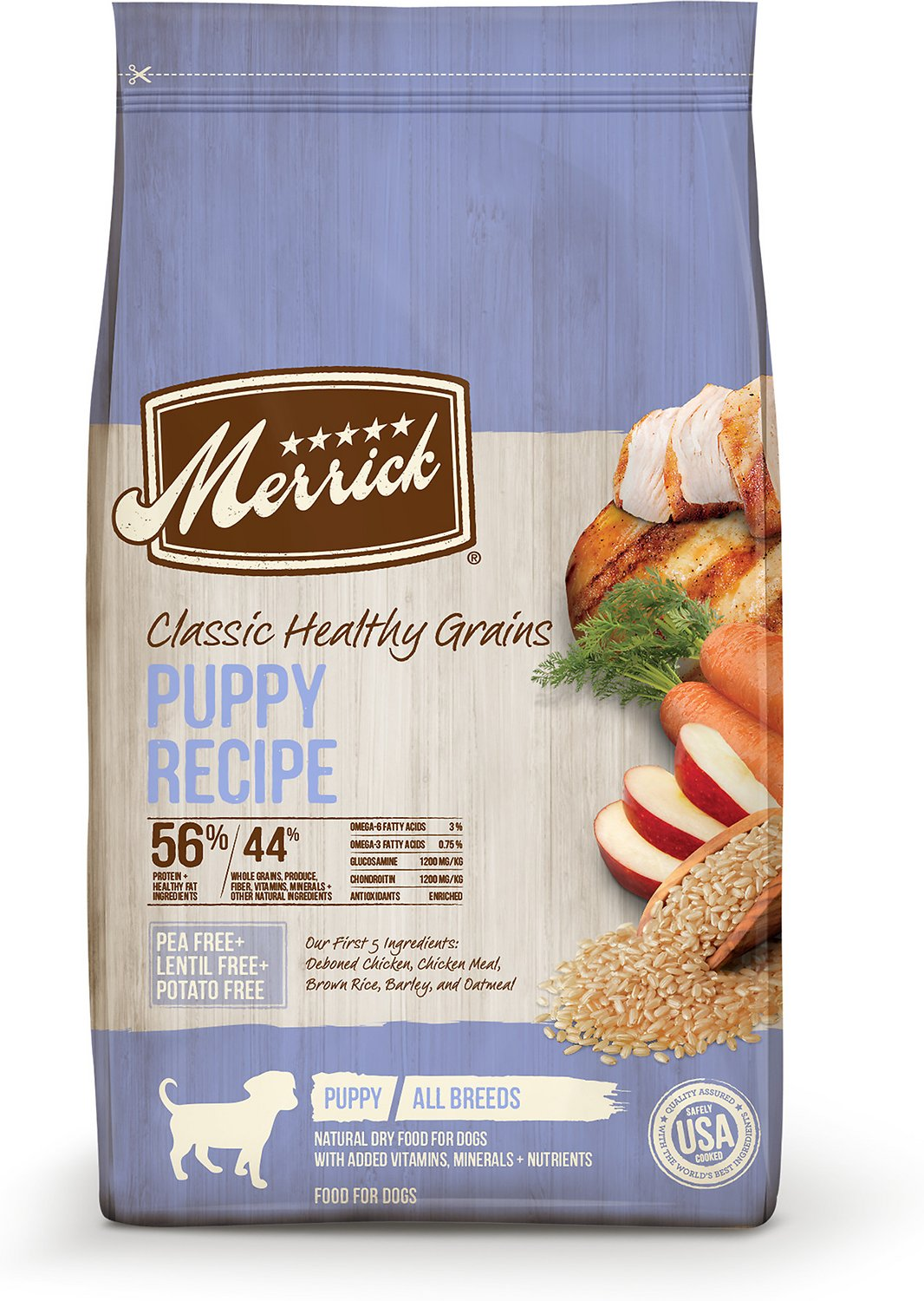 Merrick classic puppy recipe dry dog food 12 lb bag chewy forumfinder Gallery