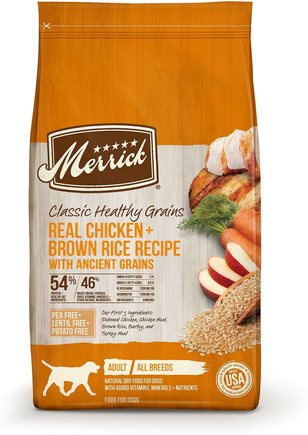 Merrick classic real chicken green peas recipe with ancient grains video forumfinder Image collections
