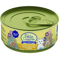 Petite Cuisine Mother Petunia's Yellow Fin Tuna Grain-Free Canned Cat Food, 3-oz, case of 24