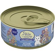 Petite Cuisine Grandma Daisy's Sesame Chicken Canned Cat Food, 3-oz, case of 24