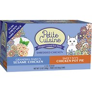 Petite Cuisine Chicken Entrees Variety Pack Grain-Free Canned Cat Food, 3-oz, case of 24