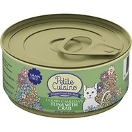 Petite Cuisine Cousin Camila's Tuna with Crab Grain-Free Canned Cat Food, 3-oz, case of 24