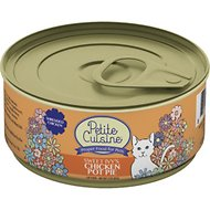 Petite Cuisine Sweet Ivy's Chicken Pot Pie Grain-Free Canned Cat Food, 3-oz, case of 24