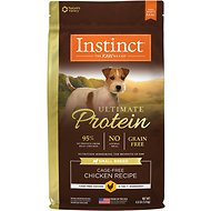 Instinct by Nature's Variety Ultimate Protein Small Breed Grain-Free Cage-Free Chicken Recipe Dry Dog Food, 4-lb bag