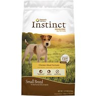 Nature's Variety Instinct Grain-Free Small Breed Chicken Meal Formula Dry Dog Food, 12-lb bag