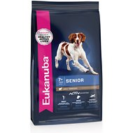 Eukanuba Senior Lamb & Rice Formula Dry Dog Food, 30-lb bag