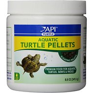 API Aquatic Floating Pellets Turtle, Newt & Frog Food, 8.8-oz
