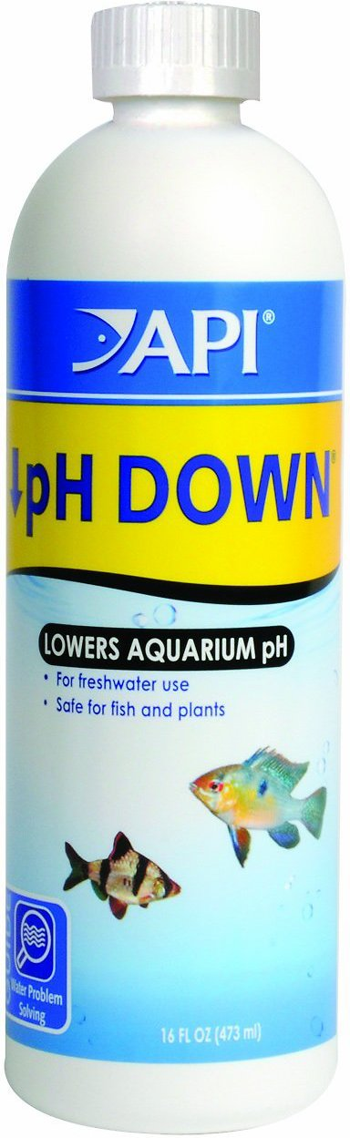 how to bring ph down in water