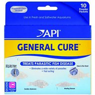 API General Cure Parasitic Fish Disease Treatment, 10-count