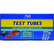 API Replacement Test Tubes for Aquarium Liquid Test Kits, 24 count