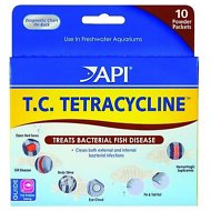 API T.C. Tetracycline Powder for Bacterial Fish Disease in Fish, 10 count