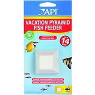 API Weekend Pyramid Fish Food Feeder, 14-days