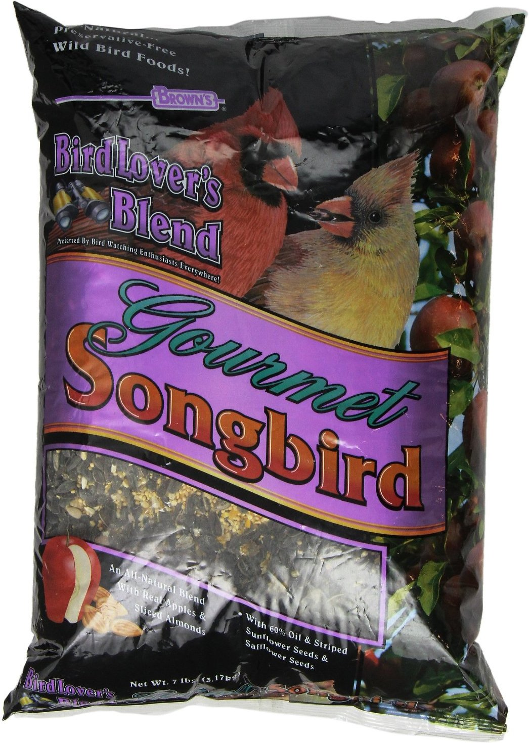 Songbird Essentials Seed Suet & Fruit Feeder