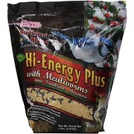 Brown's Bird Lover's Blend Hi-Energy Plus with Mealworms Wild Bird Food, 5-lb bag