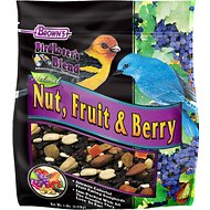 Brown's Bird Lover's Blend Nut, Fruit & Berry Wild Bird Food, 5-lb bag