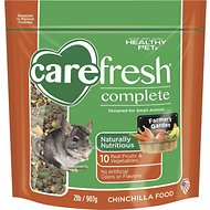 Carefresh Complete Chinchilla Food, 2-lb bag