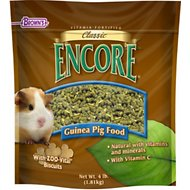 Brown's Encore Classic Natural Guinea Pig Food, 4-lb bag
