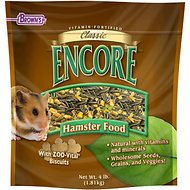 Brown's Encore Classic Natural Hamster Food, 4-lb bag