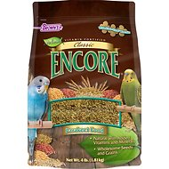 Brown's Encore Classic Natural Parakeet Bird Food, 4-lb bag