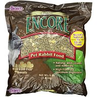 Brown's Encore Classic Natural Rabbit Food, 4-lb bag